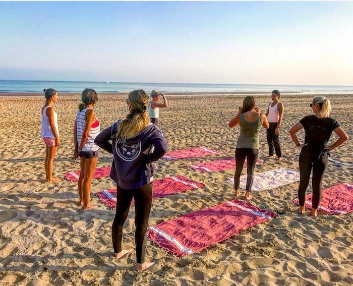 Yoga au Sunset Beach – 07.18