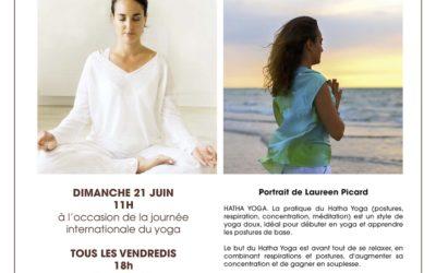 Yoga au parc des Manoirs